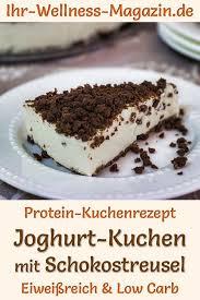 protein joghurt kuchen mit schokostreusel eiweißreiches