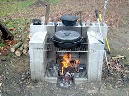 DIY Portable Outdoor Fireplace
