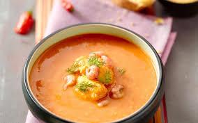 cuisine soupe de poisson soupe de poisson aux crevettes cuisine et recettes recette