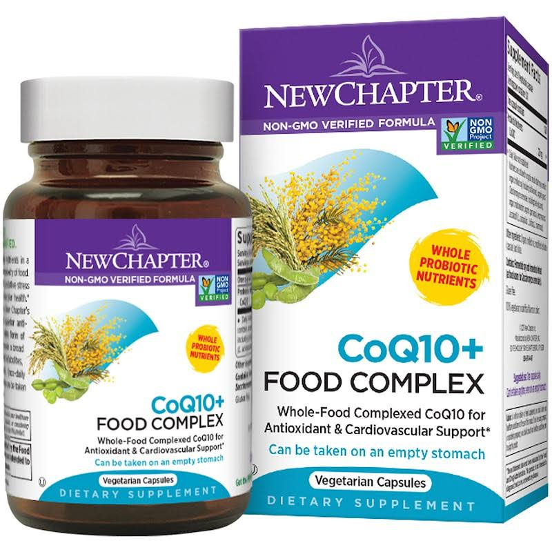 New Chapter Coq10+ Food Complex Dietary Supplement - 30 Tablets