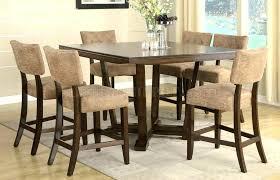 Pub Dining Room Sets Delightful Design Style Table Espresso Finish