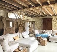 genial schane dekoration wohnzimmer rustikal modern deko
