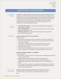 Gis Resume Template Elegant Cad Drafter Sample Free Download Example