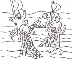 Pesca Miracolosa 14 800x682 Bible Coloring PagesBible