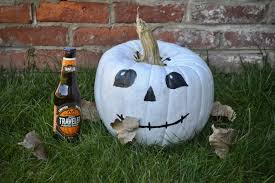 Travelers Pumpkin Shandy Where To Buy by A Week Of Painted Pumpkins For The Lazy Carvers Traveler Beer