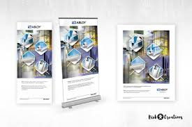 100 Mm Design Rollup Banner And Magazine Advertisement Bink Creations