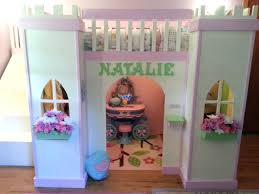 Loft Beds Walmart by Loft Beds Princess Loft Bed With Slide Bunk Tent And For Kid