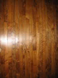 Maple Floor With A Dark Stain