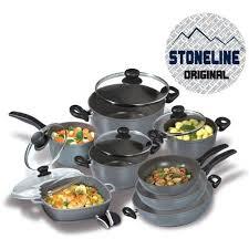 batterie cuisine en stoneline batterie de cuisine poêles en 13p achat vente