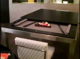 interior illusions pool table dining table combo floor