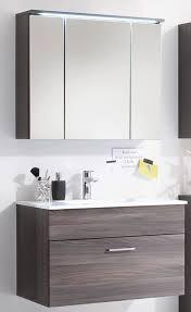 seattle badezimmer set 2 tlg braun sangallo günstig möbel küchen büromöbel kaufen froschkönig24