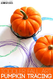 Books About Pumpkins For Toddlers by Simple Toddler Fall Art Pumpkin Tracing