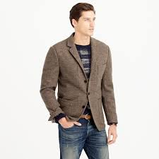 J.crew Wallace & Barnes Italian Wool Jersey Sportcoat In Brown For ... Jcrew Wallace Barnes Pieced A2 Bomber Jacket In Green For Men Jcrew Mens Lweight Military Jacket Garment Cpo Black Lyst English Wool Turtleneck Sweater Sherpacollar Contrast August 2016 Style Guide Pleated Shorts Guides Shetland Cardigan Military Denim Workshirt Sussex Quilted Marled Cotton Anchorknit Japanese Blue Shortsleeve Indigo Sweatshirt