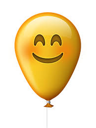 Emoticon Balloon Smile Emoji Happy Happiness
