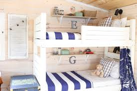 bunkbed shared room nesting with grace