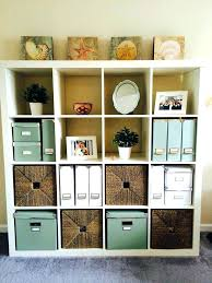 Wall Storage Ikea Cube Shelves With Doors Floating Display Office Organization Ideas