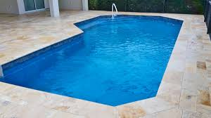 pool and deck concepts venetian travertine in mediterra