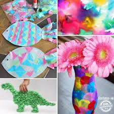 MORE COOL TISSUE PAPER CRAFTS TO CHECK OUT
