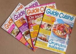 guide cuisine recettes quels magazines de cuisine acheter chefnini