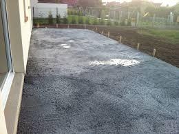 bien couler dalle beton terrasse 8 terrasse non liss233e que