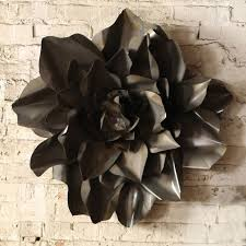 Love Metal Flower Wall Accent In