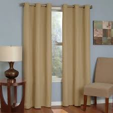 eclipse thermaback microfiber grommet blackout curtain panel target