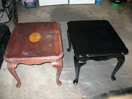 Crazy Black Paint For Wood Furniture Spray Painting Image How