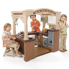 Step2 Furniture Toys by Step2 Grand Walk In Kitchen Step2 Toys
