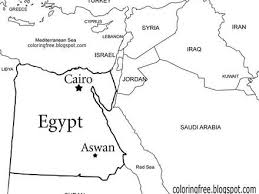 Israel Map Coloring Page Assyrian Color