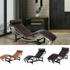 mid century modern liege lounge liege chair echt leder sofa