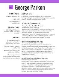 Best Resume Examples 2017 Unique Template