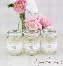 Morgann Hill Designs Mason Jar Wedding Centerpieces Vases With Burlap