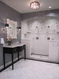 some of the tile for the master bath carrara gris tile blue