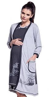 robe de chambre maternité zeta ville maternité set robe de chambre chemise nuit imprimé