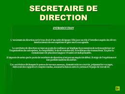 les metiers du secretariat ppt télécharger