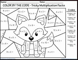 Free Math Coloring Pages