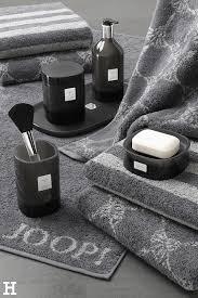 unsere schwarze joop kollektion fürs bad ist edel und schick