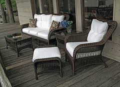 outdoor wicker furniture naturally durable patio furniture for the