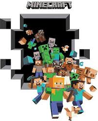 Minecraft Bedroom Wallpaper by Minecraft Wall Stickers New Arrivals Boys Room Wall Decals