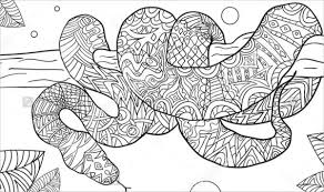 Snake Coloring P Project For Awesome Pages Of Snakes