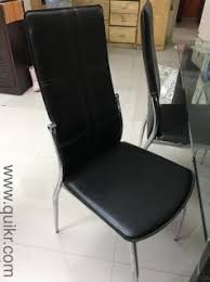 6 Chairs Glass Top Dining Table For Sale Gently And Less Used Well Maintained Price