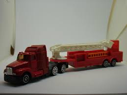100 Toy Kenworth Trucks XIN MEI QI KENWORTH T600 ARTICULATED FIRE ENGINE LADDER TR