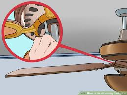 Shaking Ceiling Fan Dangerous by 3 Ways To Fix A Wobbling Ceiling Fan Wikihow