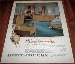 Kent Coffey Blonde Dresser by Mid2mod Kent Coffey Manufacturing Company