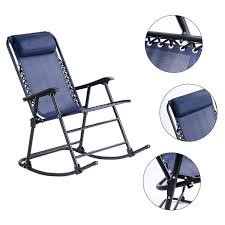 Goplus Folding Rocking Chair W/Headrest Outdoor Portable Zero ... Outdoor High Back Folding Chair With Headrest Set Of 2 Round Glass Seat Bpack W Padded Cup Holder Blue Alinium Folding Recliner Chair With Headrest Camping Beach Caravan Portable Lweight Camping Amazoncom Foldable Rocking Wheadrest Zero Gravity For Office Leather Chair Recliner Napping Pu Adjustable Outsunny Recliner Lounge Rocker Zerogravity Expressions Hammock Zd703wpt Black Wooden Make Up S104 Marchway Chairs The Original Makeup Artist By Cantoni