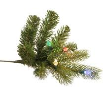 Ez Change Fiber Optic Christmas Tree 7ft by Ge Pre Lit 7 5 U0027 Just Cut Colorado Spruce Artificial Christmas Tree