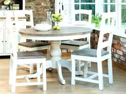 Round Country Dining Table Farmhouse Exquisite 8 French
