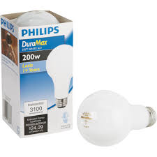 philips duramax medium a21 incandescent light bulb ebay