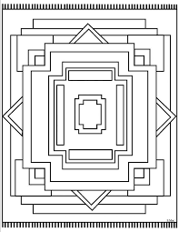 Coloring Pages Native American Blanket Designs Adult Color Educations