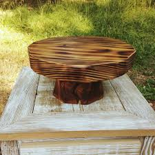 Rustic Cake Stand 15 Amazing DIY Reclaimed Designs